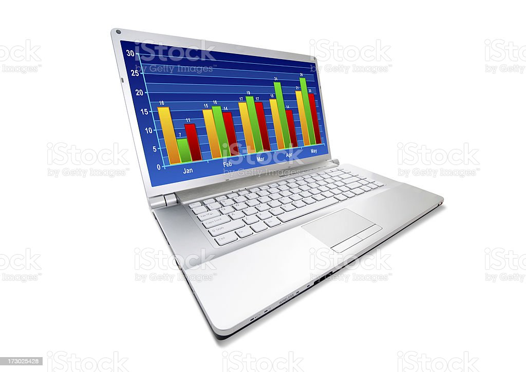 Stock Market Data royalty-free stock photo