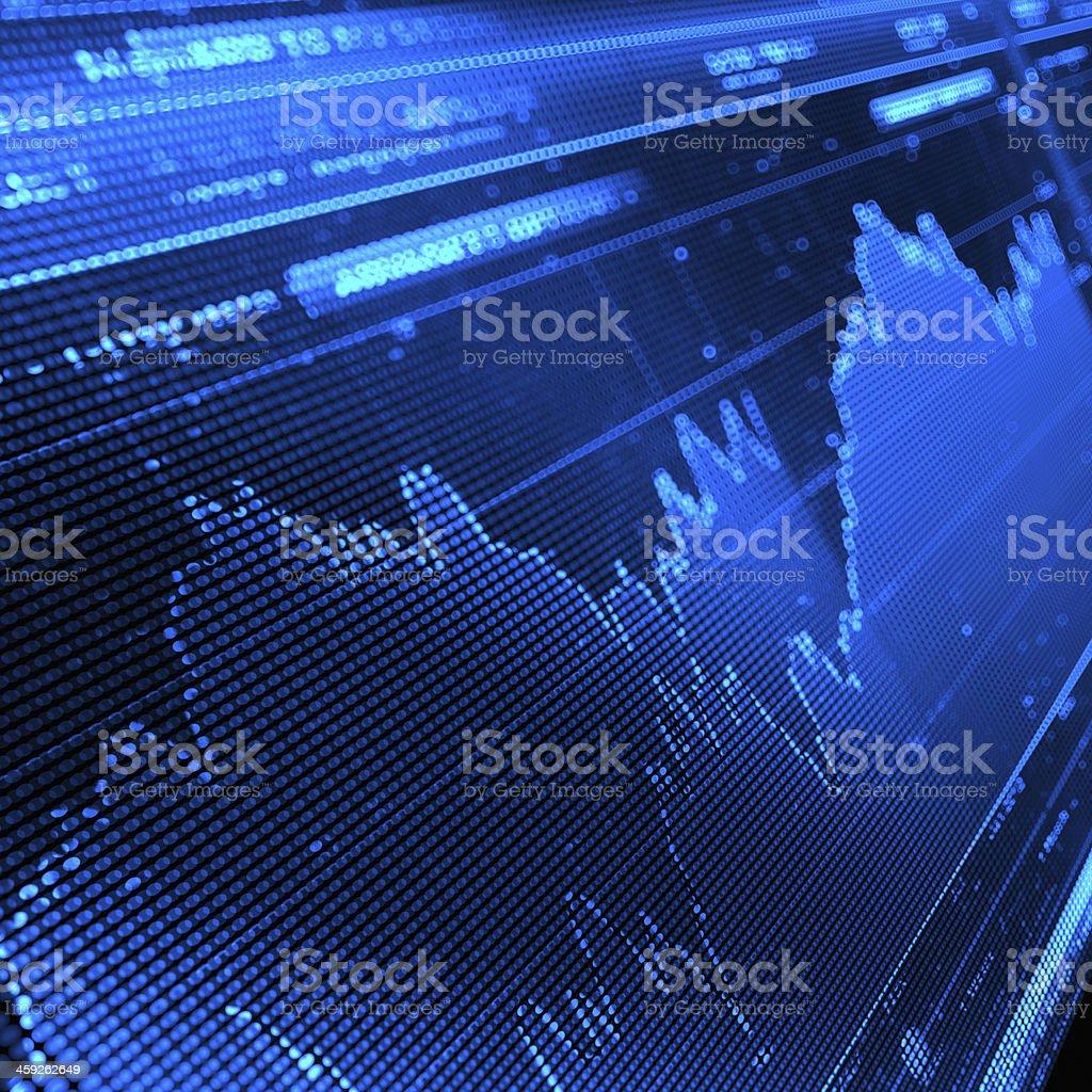 Stock Market Graph stock photo