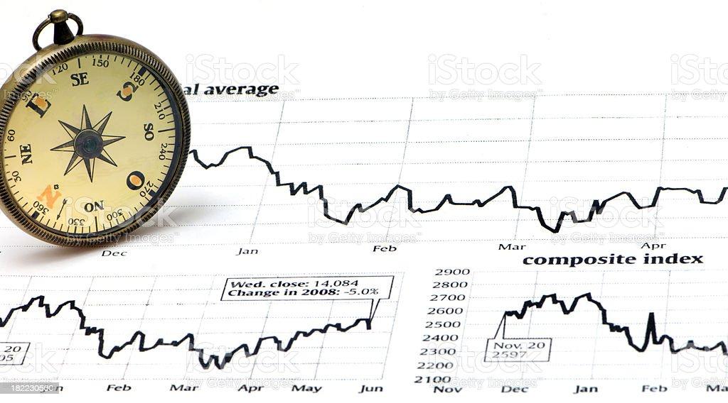 Stock Market Guidance stock photo