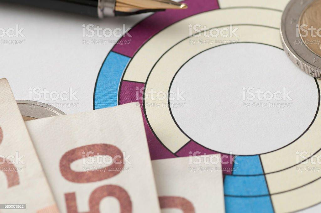 stock market investing their savings stock photo