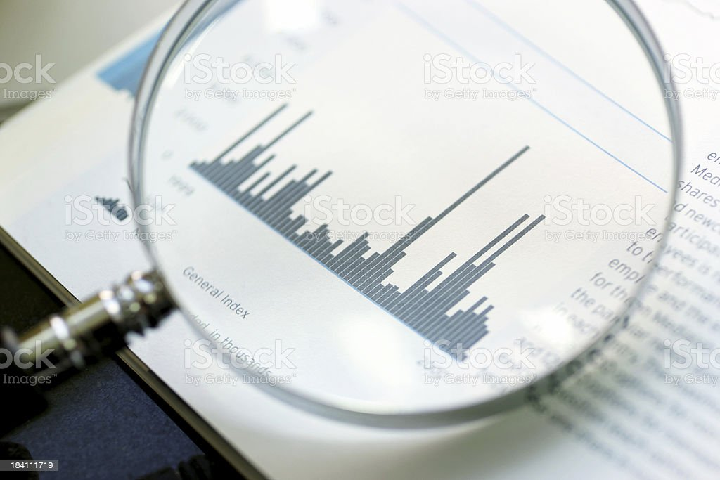 Stock Market Performance royalty-free stock photo