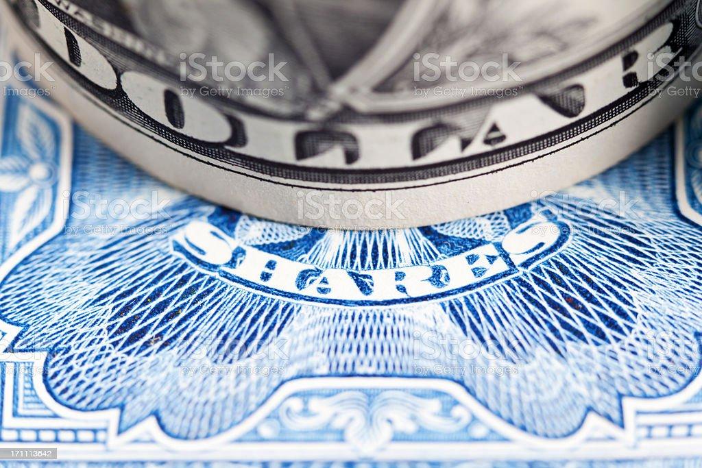 US Stock Market stock photo