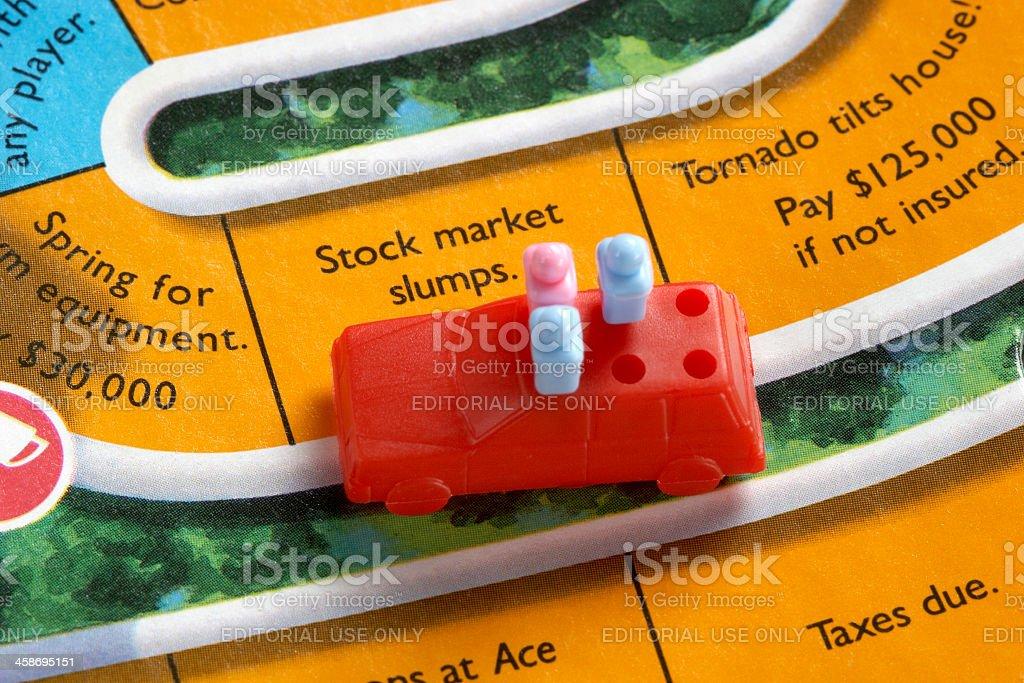 Stock Market Slumps stock photo