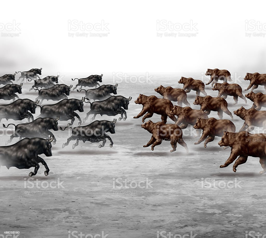 Stock Market Trend stock photo