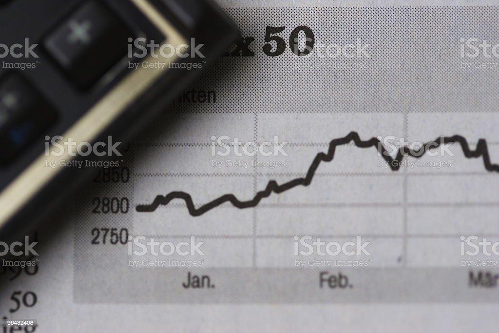Stock Market V stock photo