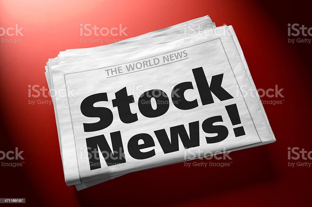 Stock News! royalty-free stock photo