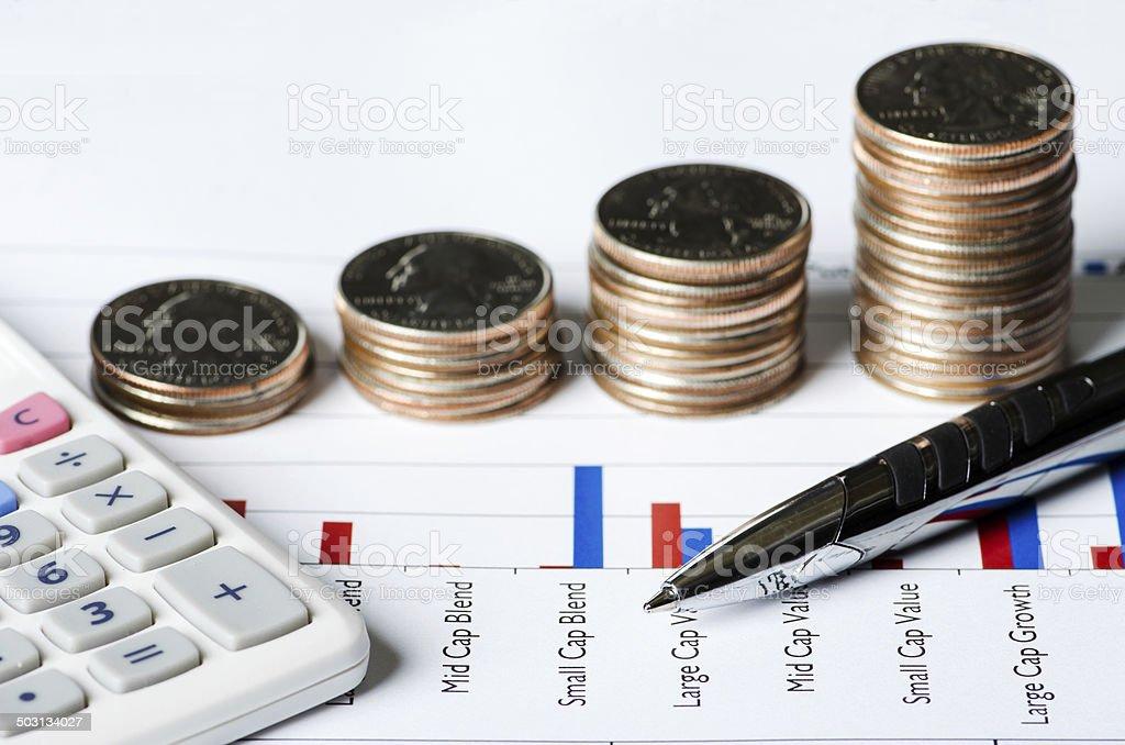 Stock Options royalty-free stock photo