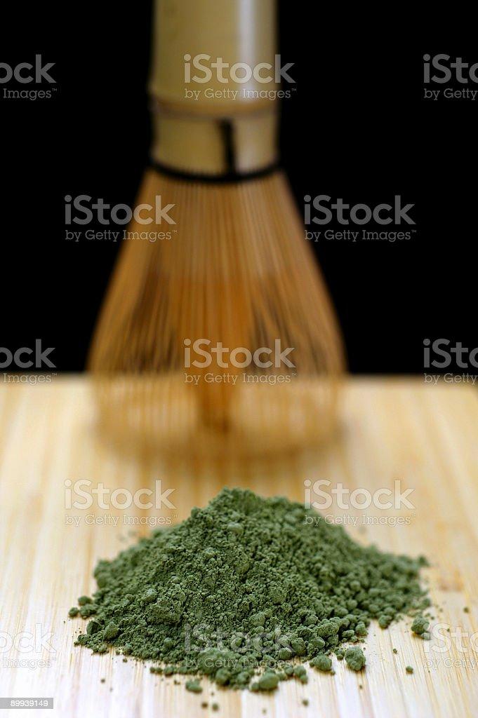 Stock Photo Green Matcha Tea royalty-free stock photo
