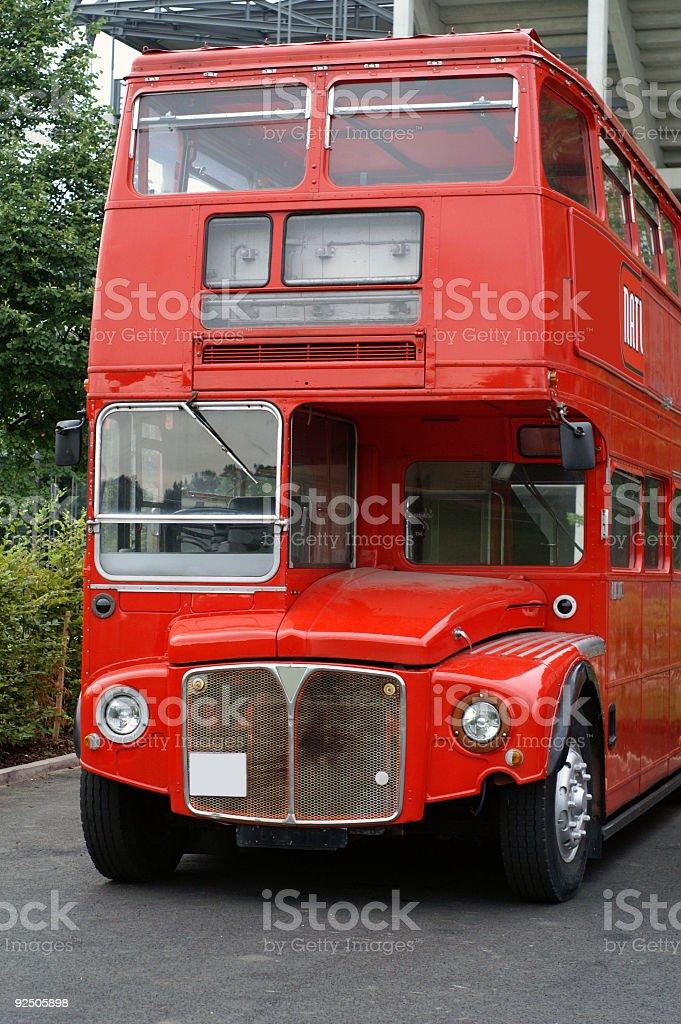 Stock Photo  London Doubledecker Bus royalty-free stock photo