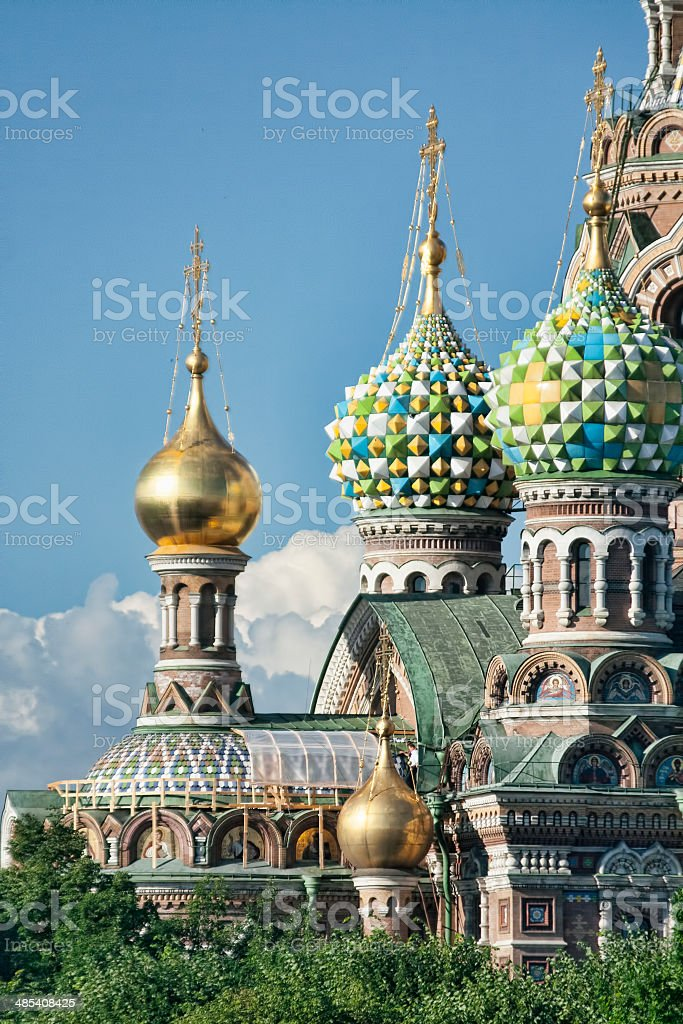 Stock Photo of Church of Our Saviour on Spilled Blood stock photo