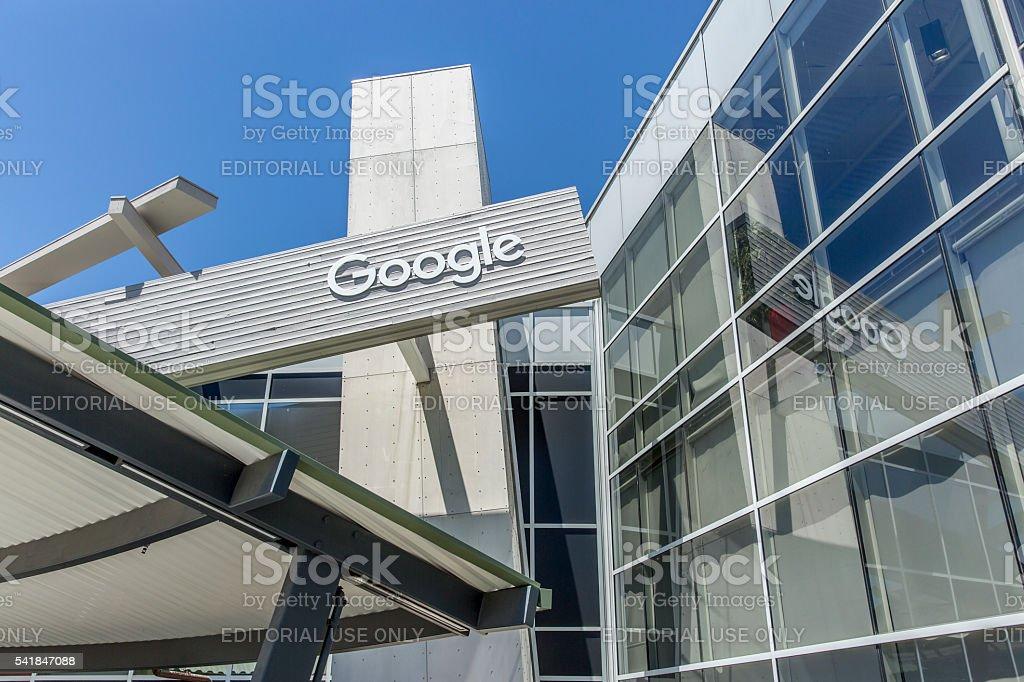 Stock Photo of Google Headquarters in Mountain View stock photo