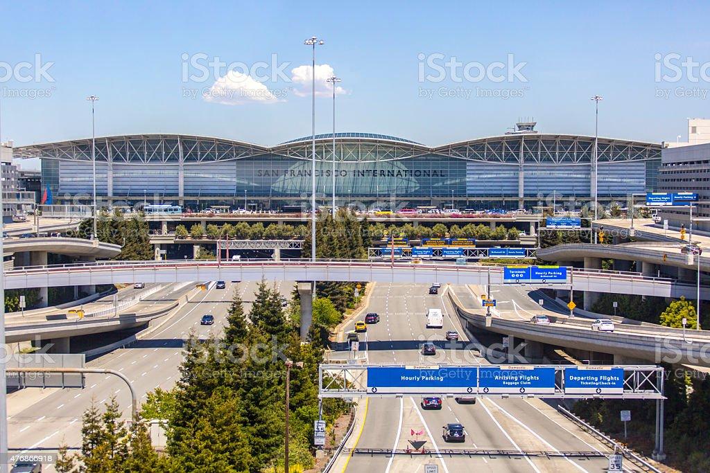 Stock Photo of the Exterior San Francisco International Airport stock photo