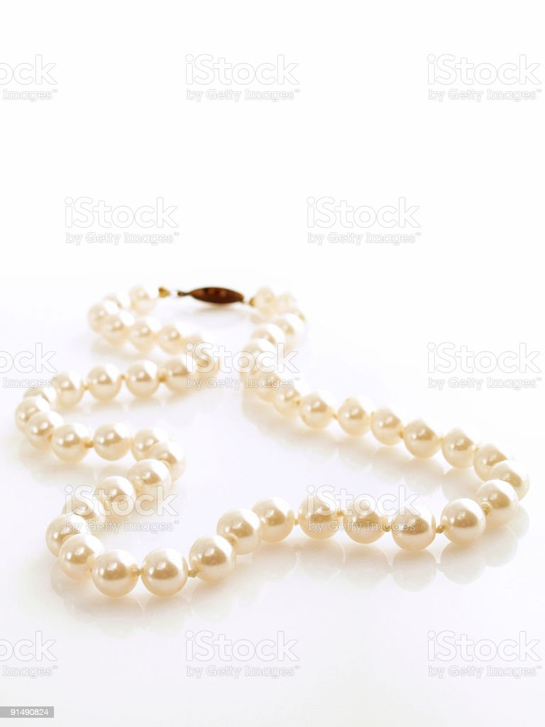 Stock Photo Pearls stock photo