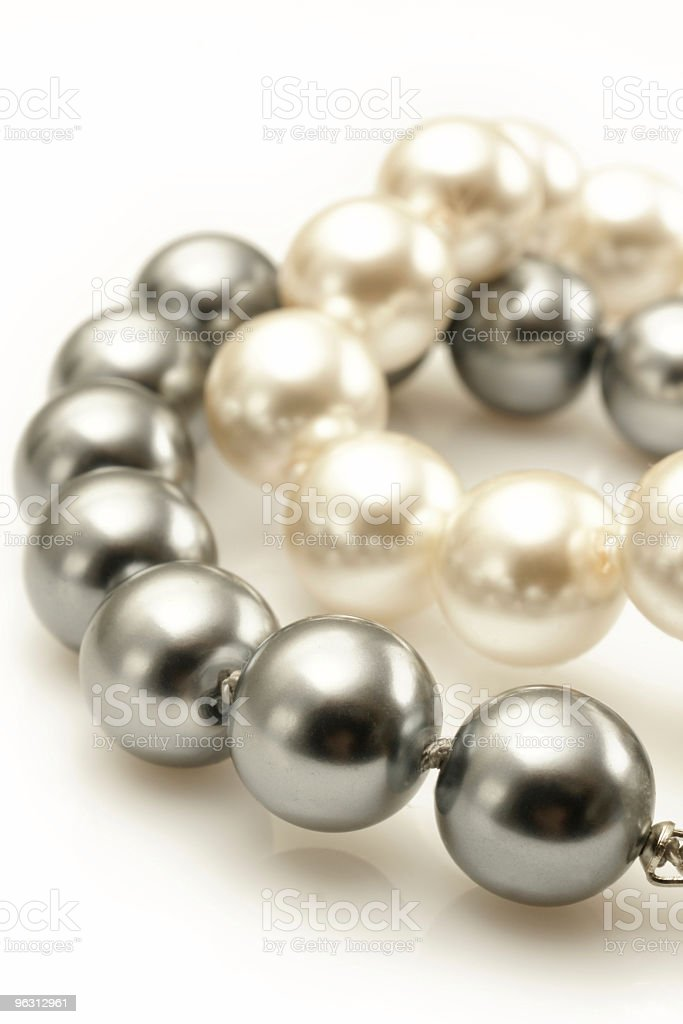 Stock Photo Pearls royalty-free stock photo