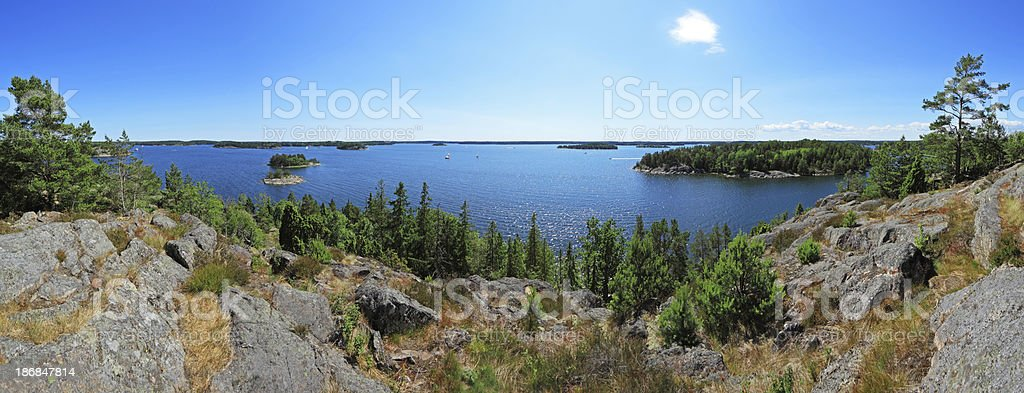 Stockholm Archipelago royalty-free stock photo