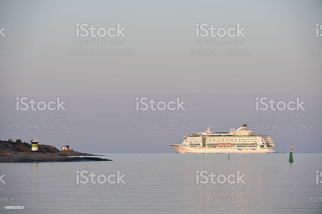 Stockholm archipelago royalty-free stock photo