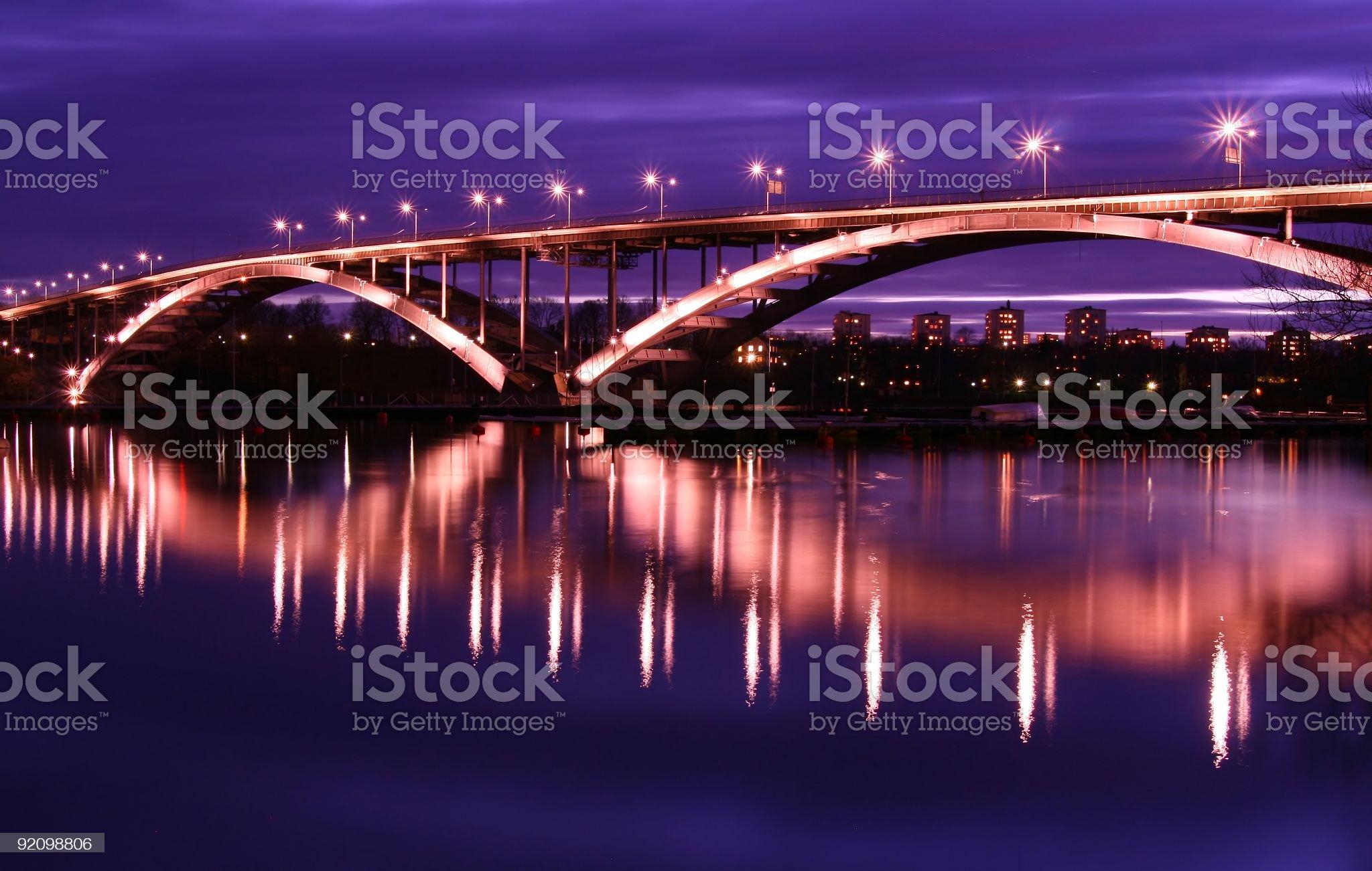 Stockholm Bridge royalty-free stock photo
