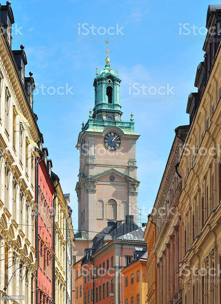 Stockholm Cathedral stock photo
