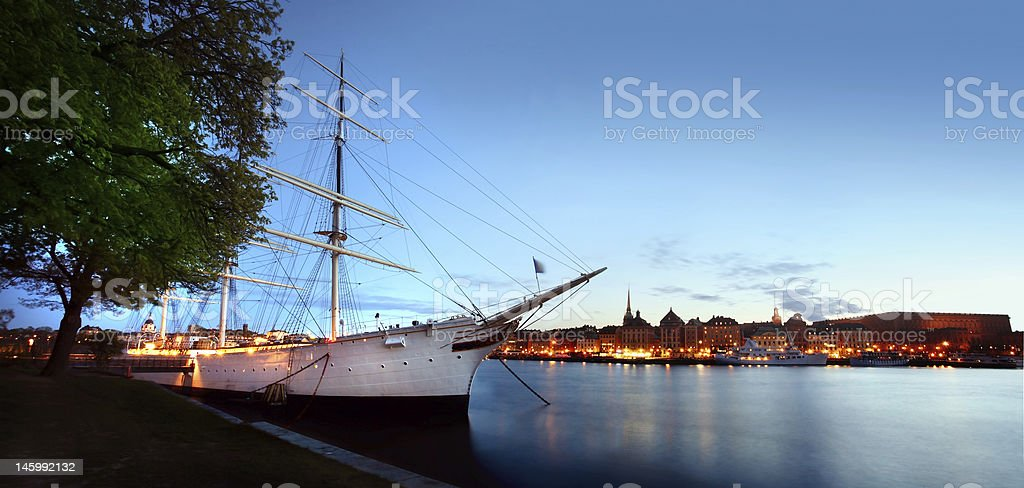 Stockholm City stock photo