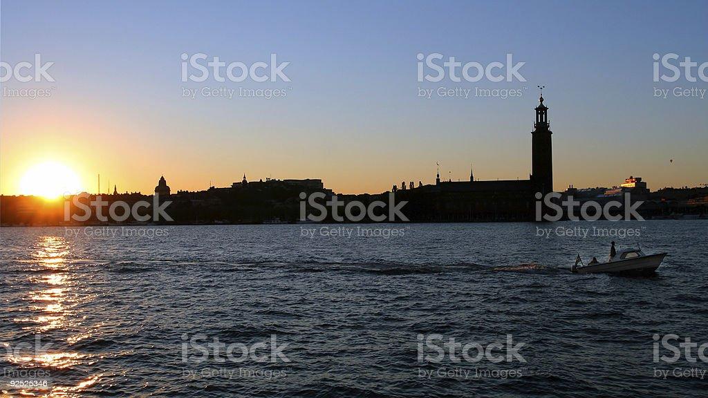 Stockholm City, royalty-free stock photo