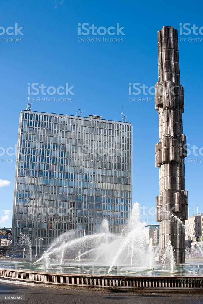 Stockholm city. Sweden stock photo