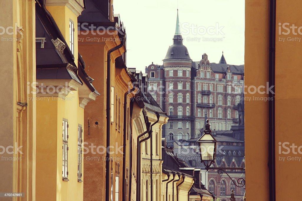 Stockholm city, Sweden. stock photo