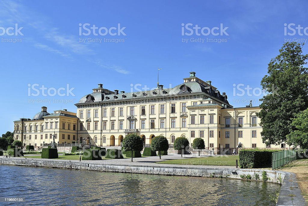 Stockholm. Drottningholm Palace stock photo