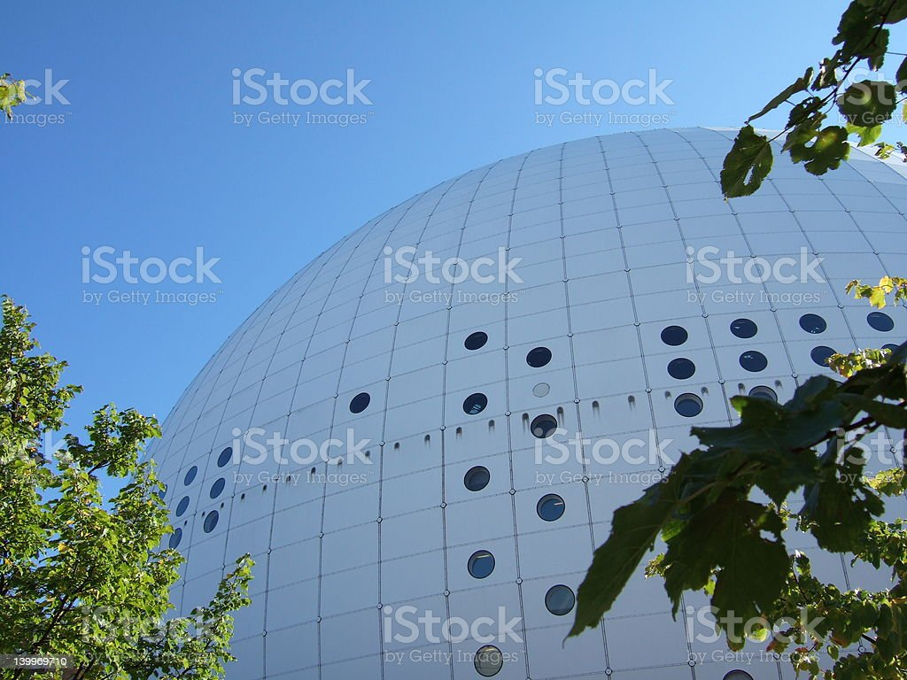 Stockholm Globe Arena royalty-free stock photo