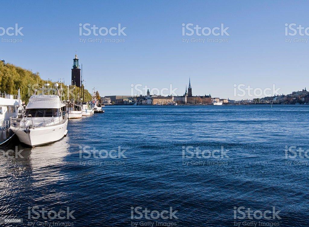 Stockholm - Lake Mälaren royalty-free stock photo