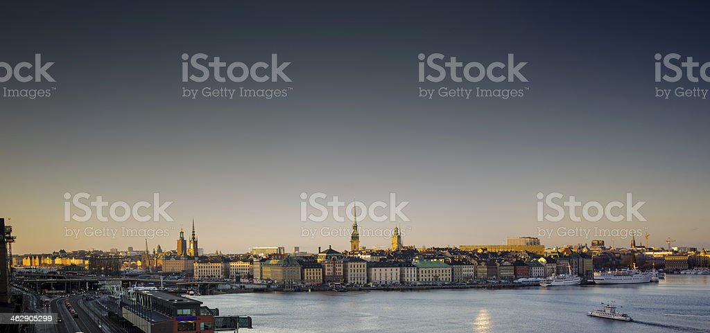 Stockholm Old Town stock photo