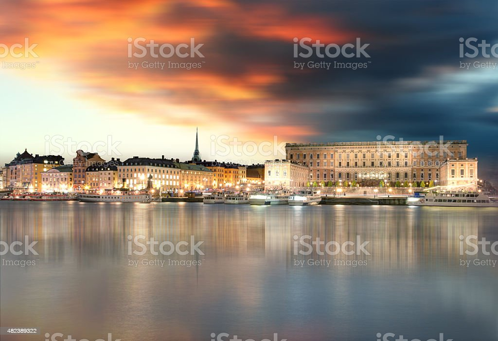 Stockholm Old Town, Sweiden stock photo