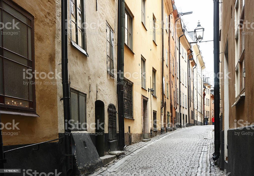 Stockholm Old-Town royalty-free stock photo
