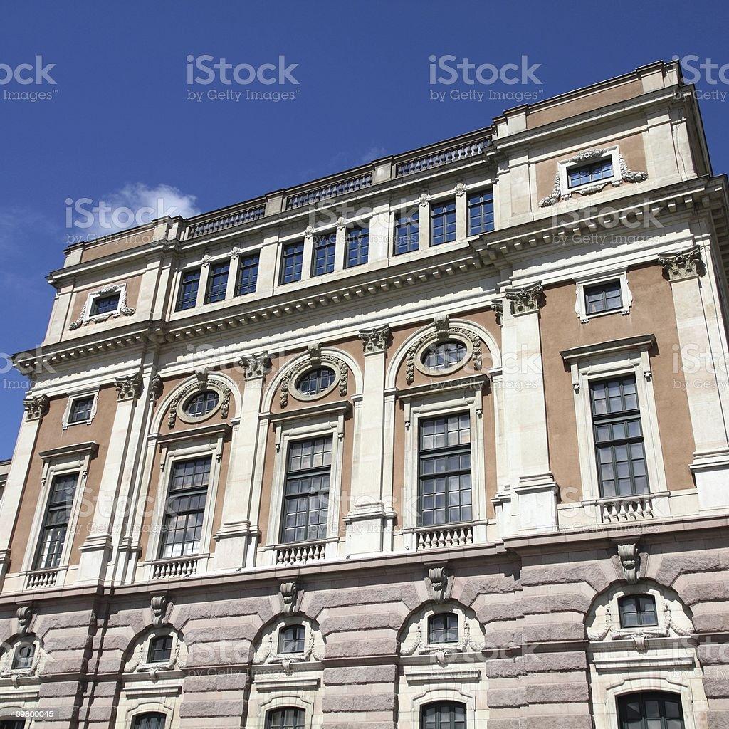 Stockholm Opera stock photo
