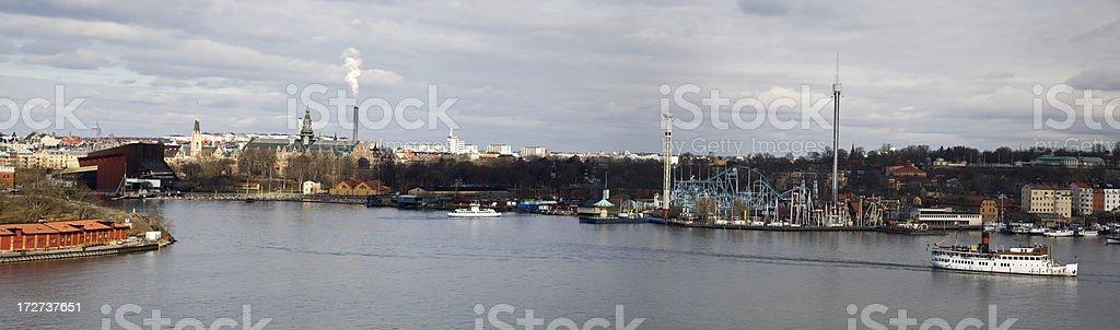 Stockholm panorama (XXL) royalty-free stock photo