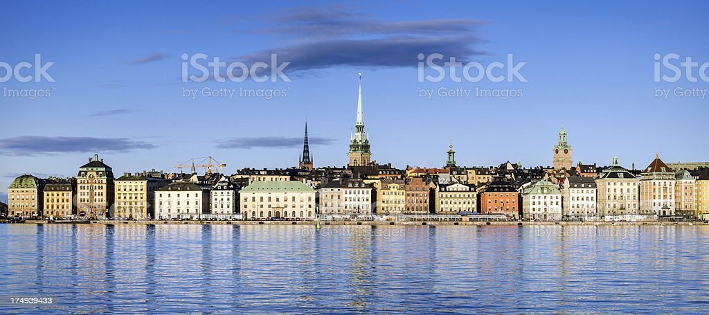 Stockholm Panorama stock photo