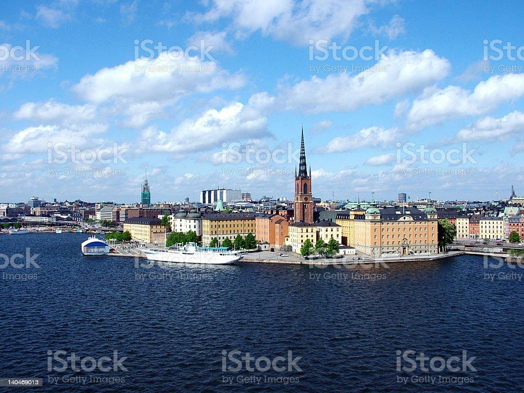 Stockholm royalty-free stock photo