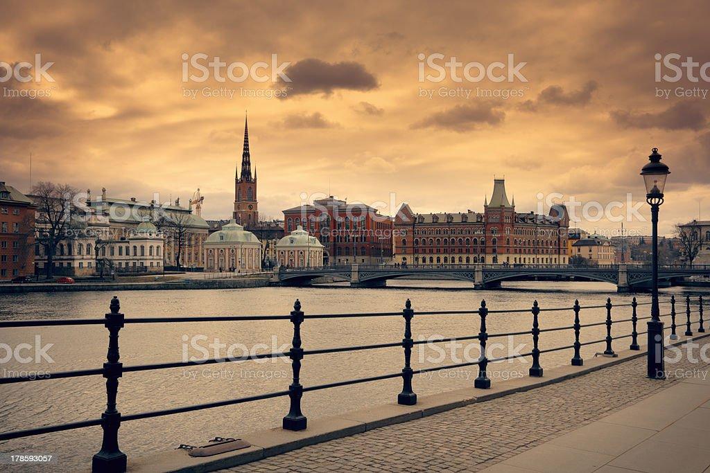 Stockholm stock photo