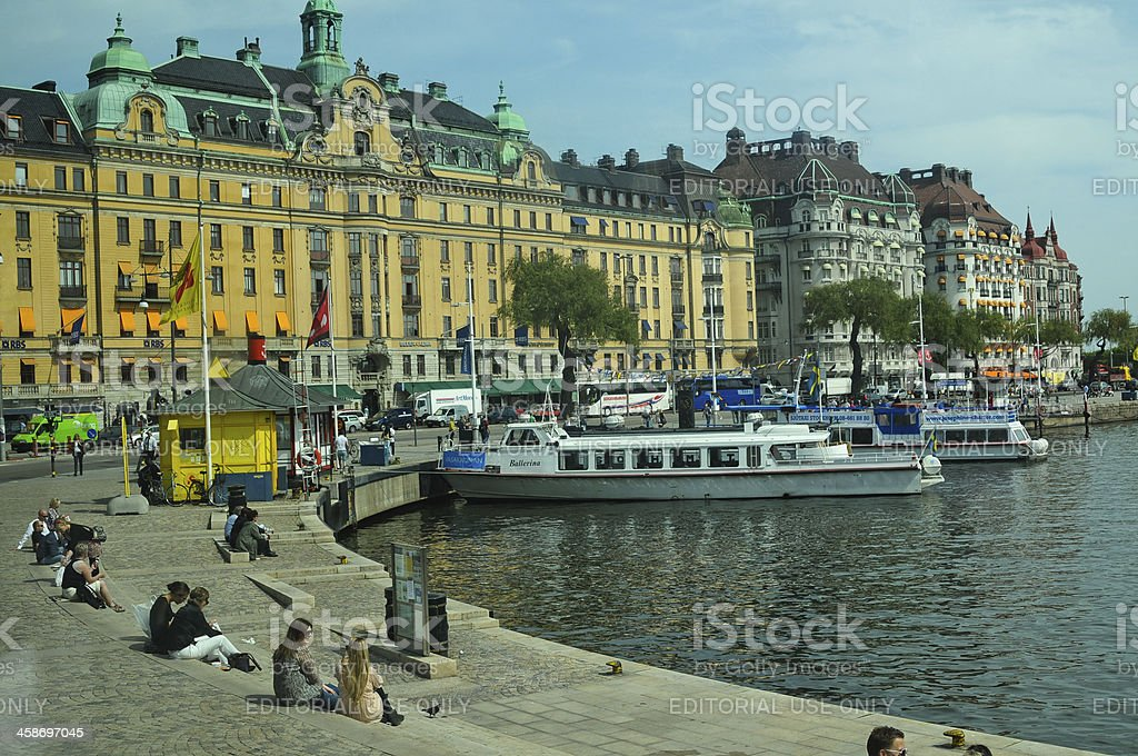 Stockholm royalty-free stock photo