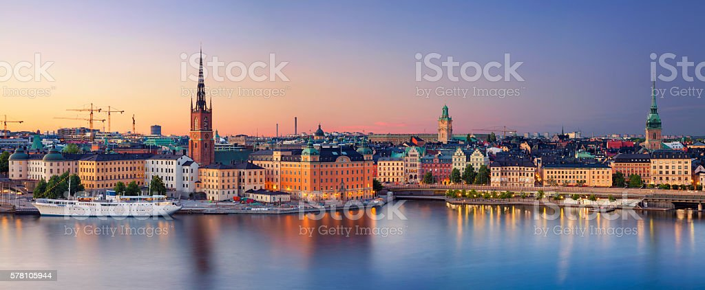 Stockholm. stock photo