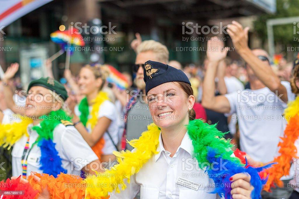 Stockholm Pride Parade 2016 stock photo
