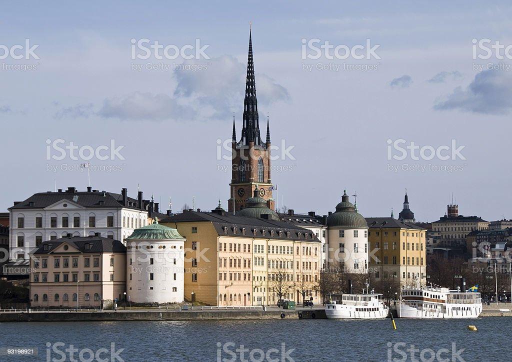 Stockholm - Riddarholmen stock photo