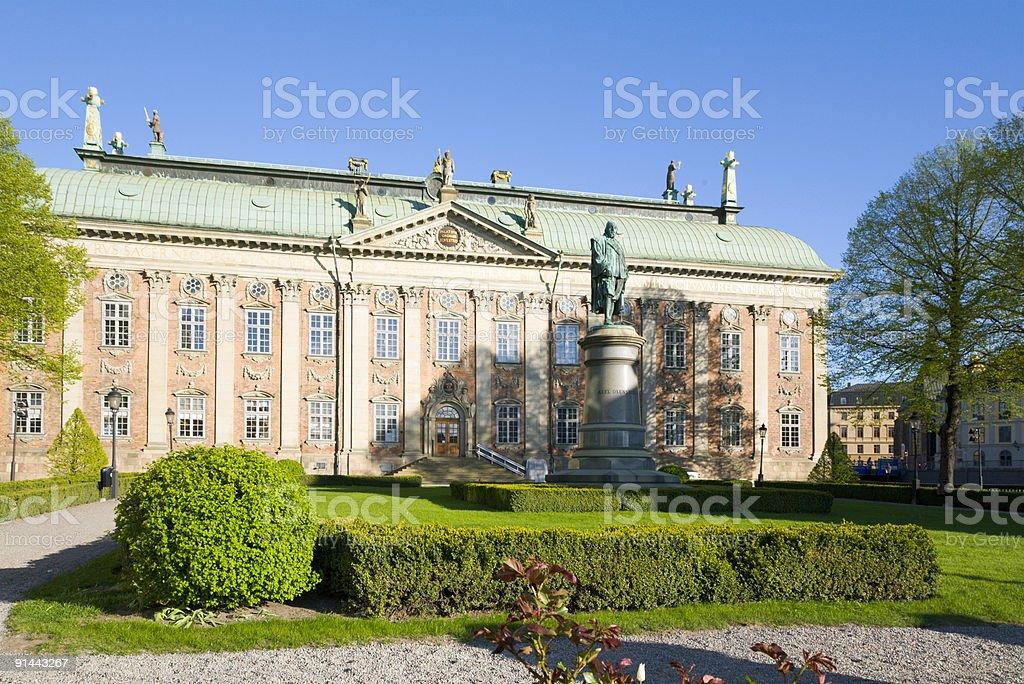 Stockholm Riddarhuset stock photo