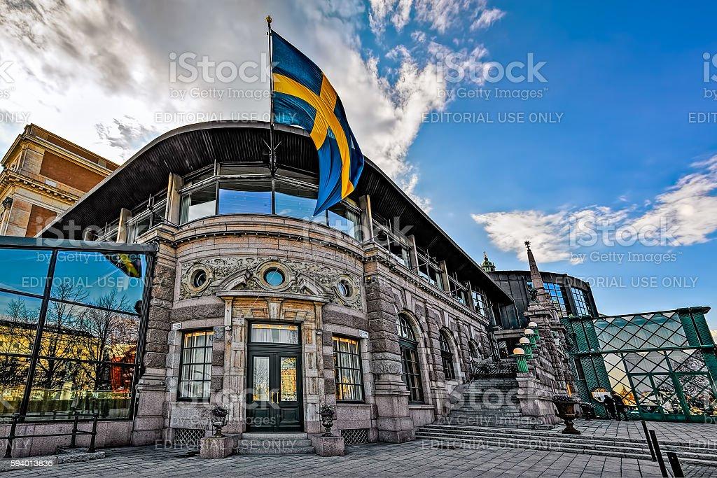 Stockholm royal opera house stock photo