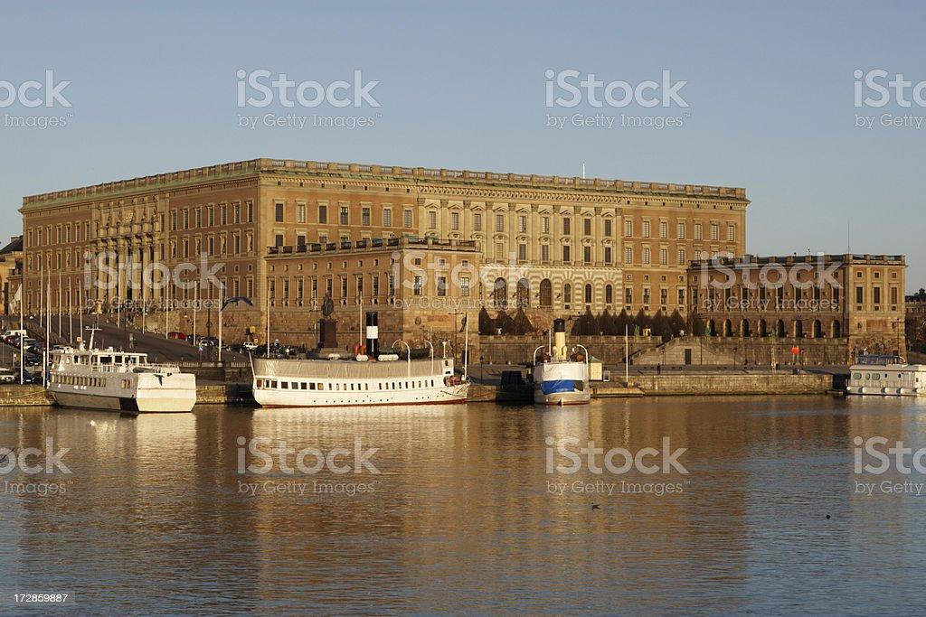 Stockholm Royal Palace stock photo