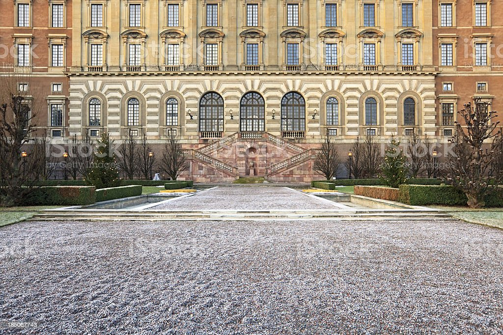 Stockholm Royal Palace stock photo