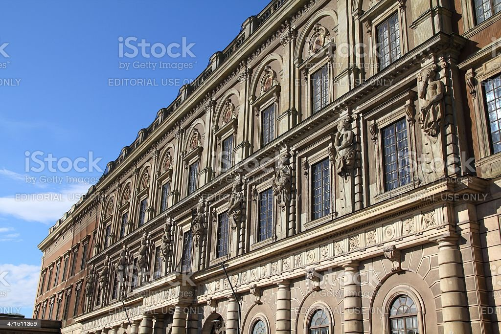 Stockholm Royal Palace royalty-free stock photo