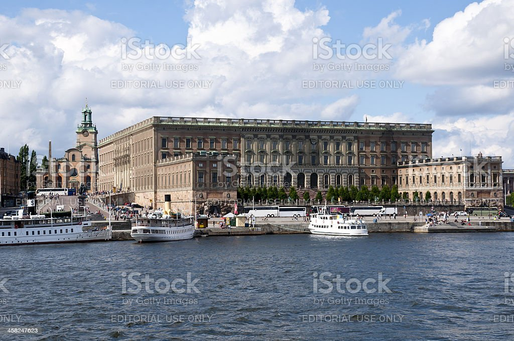 Stockholm Royal Place stock photo