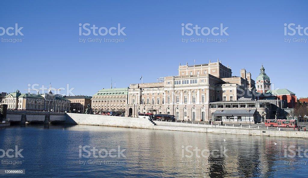 Stockholm Royal Swedish Opera house. Sweden. stock photo