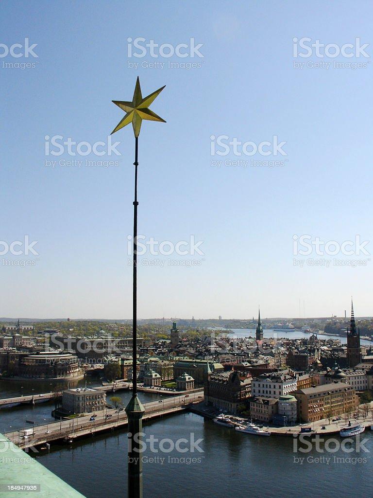 stockholm skyline royalty-free stock photo