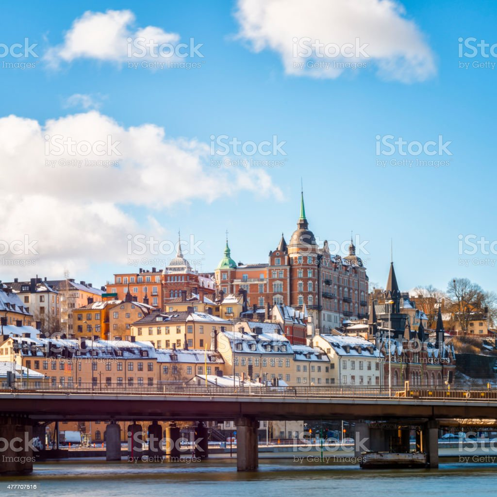 Stockholm Soder stock photo